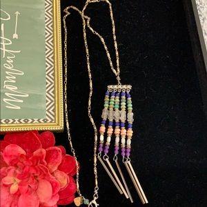 ✨Adorned Crown boho beaded tassel necklace